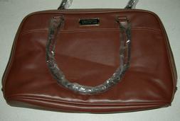 """EDODAY 14-15.6"""" LapTop Bag for Women Brown"""