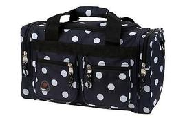 19 Carry-On Duffel - Pattern: Black Dot