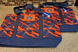 "2 - NCAA Auburn Tigers Women's Shatter Tote Bag, 17"" x 13.5"""
