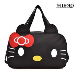 2019 Hello Kitty Travel <font><b>Bag</b></font> Large Capaci