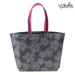 2019 New Fashion Women Lady Foldable Shopping <font><b>Bag</