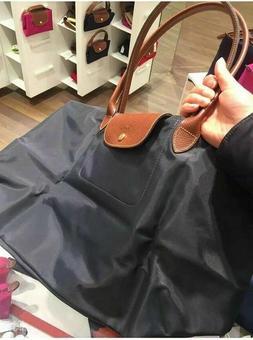 2020 NEW Longchamp Le Pliage Black tote bag Large L