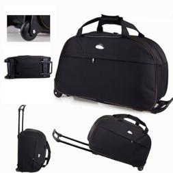"""24"""" Luggage Duffel Bag Travel Wheel Hand Suitcase Tote Carry"""