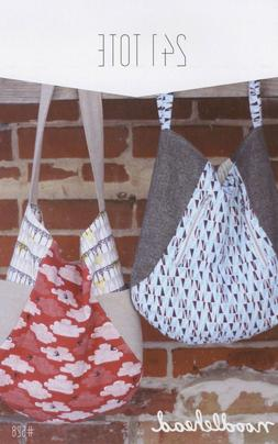 241 TOTE BAG SEWING PATTERN, From Noodlehead Patterns, NEW