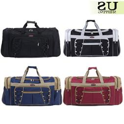 "26"" Waterproof Overnight Tote Travel Gym Sport Bag Duffle Ca"