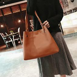 4Pcs Womens Tote Bag Handbags Top Handle Purse Crossbody Sho