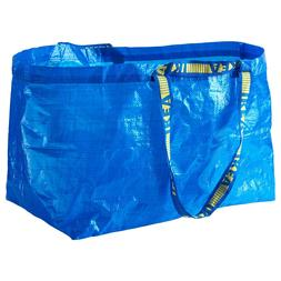 5 IKEA Large Reusable Shopping Bag Laundry Tote Grocery Shop
