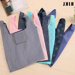 HJKL 6 Color printing foldable green shopping <font><b>bag</