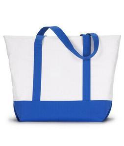 7006 UltraClub Zippered Polyester Bag Tote Bag