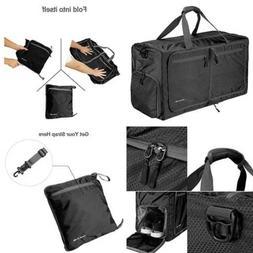 QYUHE 80L Extra LARGE Capacity Tote Bag Foldable Duffle Lugg