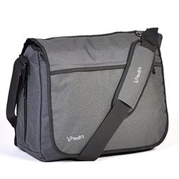 Filberry Messenger DIAPER BAG for DADS & MOMS to share baby
