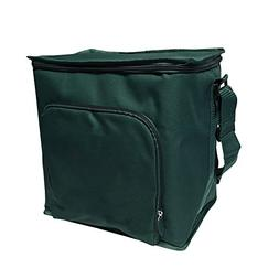 """Green Earth Bags Reusable Thermal Cube Grocery Tote Bag, 12"""""""