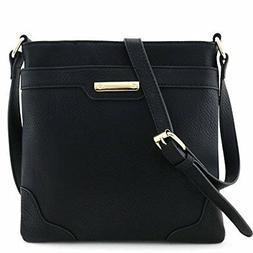 Isabelle Women's Crossbody Bag, Classic Medium-Sized, Faux L