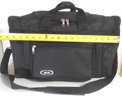 "TOTE BAG 18"" INCH 30LB. CAPACITY BLACK DUFFLE GYM BAG  LUGGA"