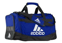adidas Defender III medium duffel Bag, Blue/Black/White, One