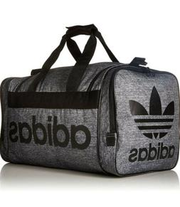 adidas Originals Santiago Duffel Bag, Jersey Onix/Black, One