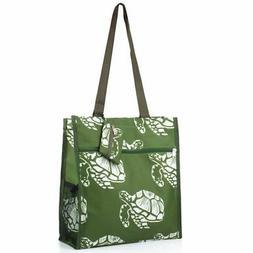All Purpose Travel Laundry Shopping Zipper Utility Tote Bag