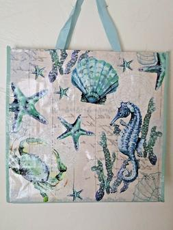 Aloha Summer Surfboard Beach Reusable Grocery Bag Market Tot