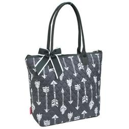 Arrow NGIL® Quilted Large Ribbon Tote Bag