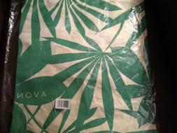 AVON Canvas Green Palm Tote Bag - NIP