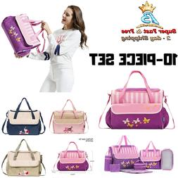 Baby Diaper Bag Set Handbag Tote Bag Handbags Free Shipping