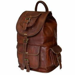 backpack soft flexible leather genuine women travel