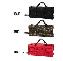 Bag Duffle Luggage Travel Tote Shoulder Handbag Hand Rolling
