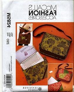 McCall's Pattern Bags and Laptop Cover, 1 Size Only