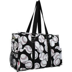 Baseball NGIL® Large Travel Caddy Organizer Tote Bag