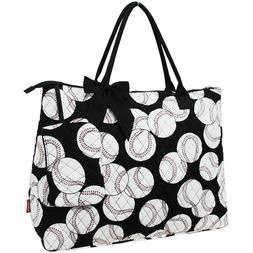 Baseball NGIL® Quilted Overnight Tote Bag