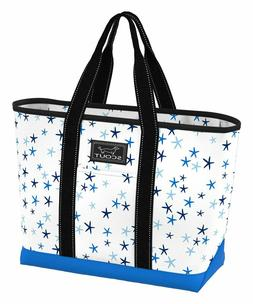 SCOUT Blue & White Star Line Up  La Bumba  Tote Bag  NWT