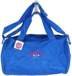 Blue Girls' Lacrosse Duffel Tote Bag Sports Game Sticks Ball