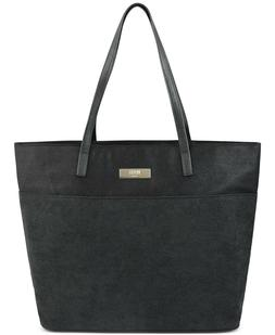 Boss Hugo Boss Parfums For Her Tote Bag Black w Pink Interio