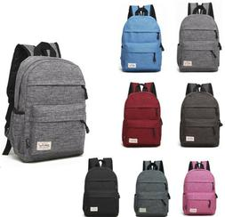 Boy Girls Children Nylon School Bag Travel Backpack Tote Sho