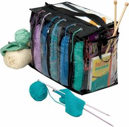 Brand New Knitting Bag Organizer, Crochet Tote Bag for Yarn