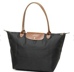 Brand New Longchamp Le Pliage Large 1899 Nylon Tote Bag Auth
