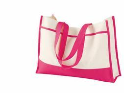 Bridesmaid Tote , Bag, Pink tote, Gemline 2230, Shopping bag