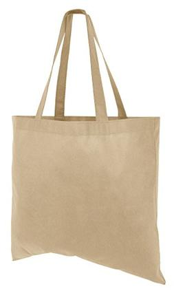 Set of 50 Cheap Budget Promotional Large Tote Bags