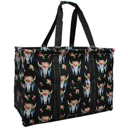 Bull Skull NGIL® Mega Shopping Utility Tote Bag
