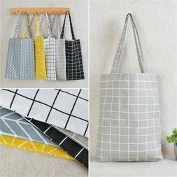 canvas shopping handbag shoulder tote satchel messenger