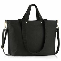 94d70667111a BONTHEE Canvas Tote Bag Handbag Women Large Shopper Shoulder. 4