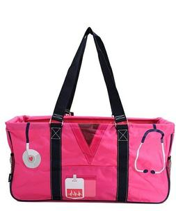 """Canvas XL All Purpose Open 23"""" Utility Tote Bag NEW NGIL FRE"""