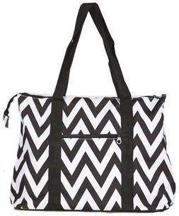 Ever Moda Chevron Tote Bag X-Large
