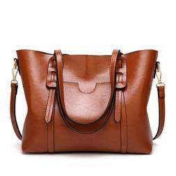 Classic Leather Handbags Women High Quality Modern Female Sh