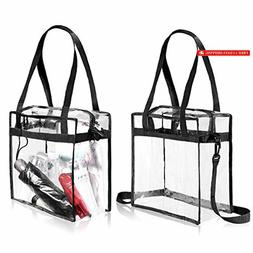 BAGAIL Clear Bag NFL PGA Stadium Approved - The Clear Tote B