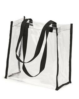OAD Clear Tote Bag OAD5004 - Black - One Size