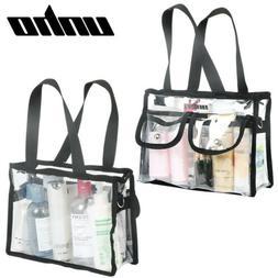 Clear Tote Bag Bags Crystal PVC Women Handbag Shoulder Fashi