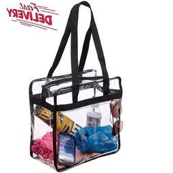 Clear Tote Bag Bags Handbag Crystal PVC Women Shoulder Fasio