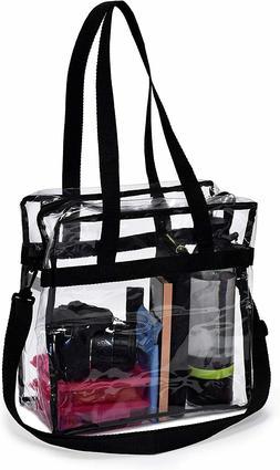 Clear Tote Bag NFL PGA Stadium Approved Transparent Handbag