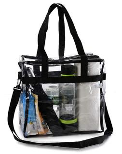 Bravo Enterprise Clear Tote Bag 12 X 12 X 6 NFL Stadium Appr